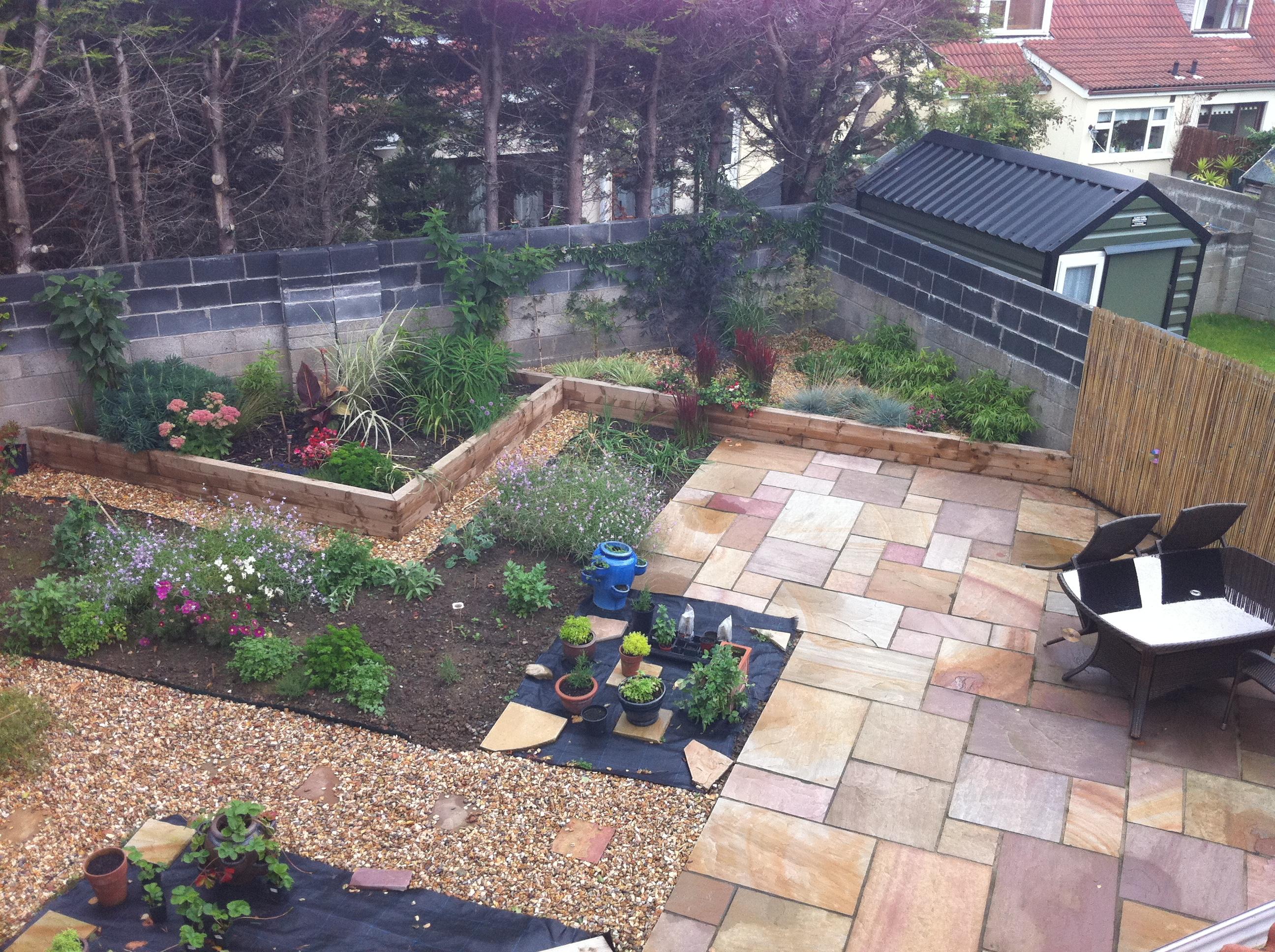 Surehome services garden landscaping decking paving for Garden decking kildare