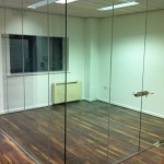 glass partitions, Frameless glass partitions, glass ironmongery