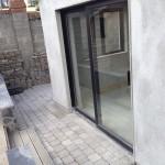 Alluminium patio doors