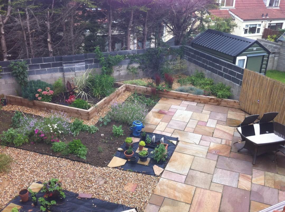 Building portfolio 3 building contractors for Garden decking kildare